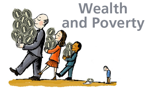 The wealth of a nation can still mean poverty for its people.