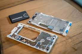 The Fairphone, using sustainable mining practices.