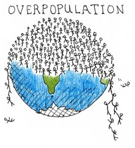 Overpopulation and wallstreet