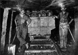 Loss of jobs in underground mining