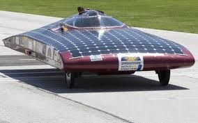 Solar race across Australia.