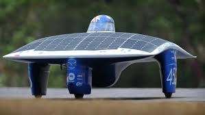 The solar Car race