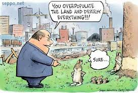 Overpopulation and hunger